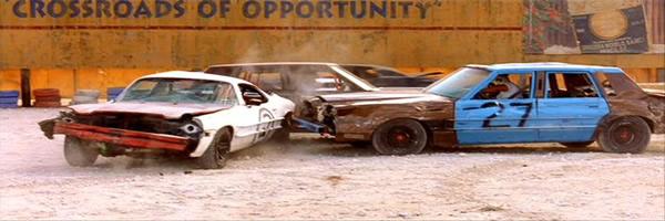 Lincoln Town Car destrozado